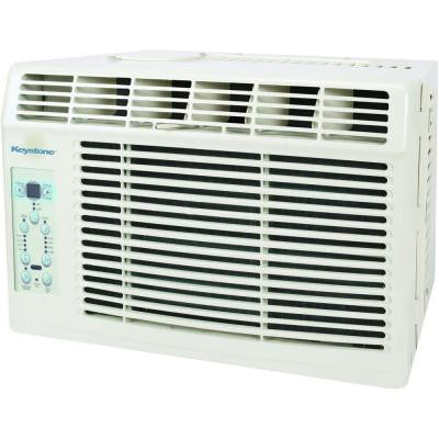 Energy Star 6,000 BTU Window-Mounted Air Conditioner with LCD Remote
