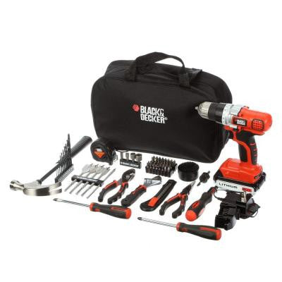 20-Volt Max Lithium Drill and Project Kit