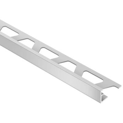 Schiene Satin Anodized Aluminum 5/16 in. x 8 ft. 2 in. Metal L-Angle Tile Edging Trim
