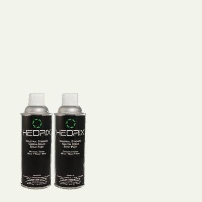 11 oz. Match of CH-11 Snowdrift Semi-Gloss Custom Spray Paint (2-Pack)