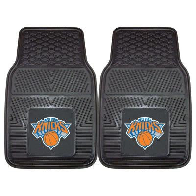 New York Knicks 18 in. x 27 in. 2-Piece Heavy Duty Vinyl Car Mat