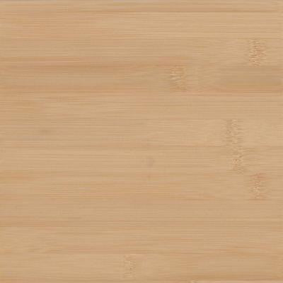 4 in. x 4 in. Wood Countertop Sample in Natural Bamboo Plank