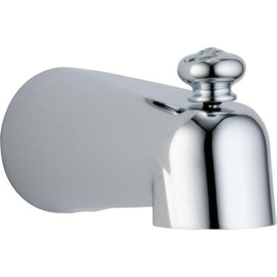 5-1/2 in. Pull-Up Diverter Tub Spout in Chrome