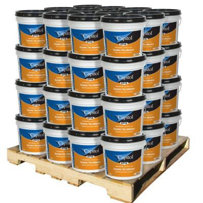 3.5-gal. Ceramic Tile Adhesive and Mastic (48-Pail)
