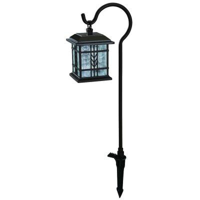 Low-Voltage LED Bronze Mission Outdoor Shepherd Hook Path Light