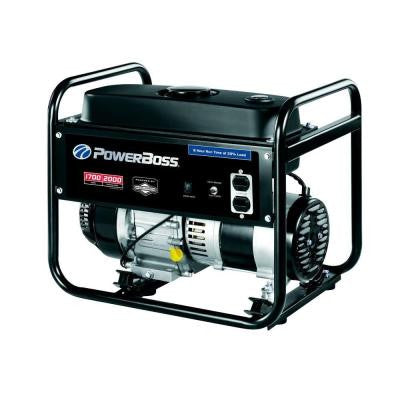 1,700-Watt Gasoline Powered Portable Generator with Briggs & Stratton Engine