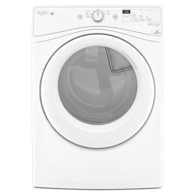 Duet 7.3 cu. ft. High-Efficiency Electric Dryer in White, ENERGY STAR