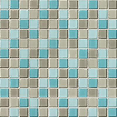 Isis Whisper Blend 12 in. x 12 in. x 3 mm Glass Mesh-Mounted Mosaic Wall Tile