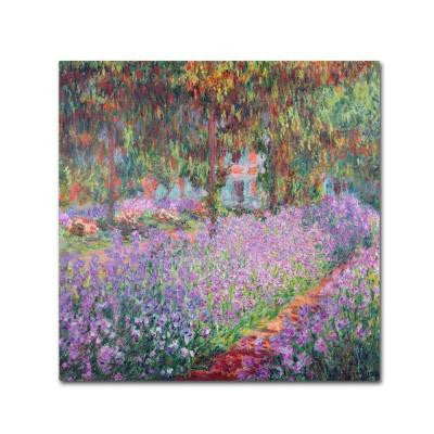 35 in. x 35 in. The Artists Garden at Giverny Canvas Art