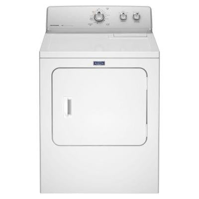 7.0 cu. ft. Electric Dryer in White