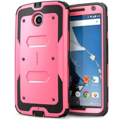 Armorbox Full Body Case for Google Nexus 6 -Pink