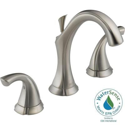 Addison 8 in. Widespread 2-Handle High-Arc Bathroom Faucet in Stainless
