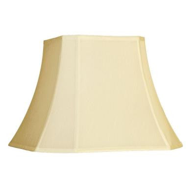 Beige Cut Corner Single Replacement Lamp Shade