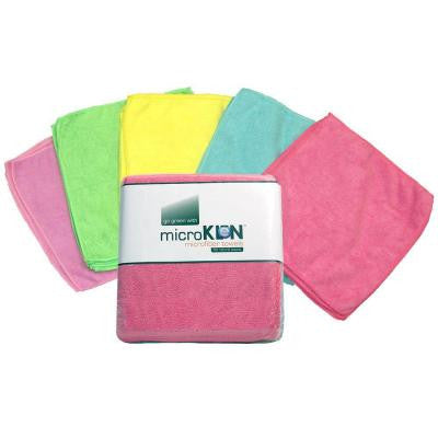 MicroKLen 12 in. x 12 in. Microfiber Towels (50-Pack)