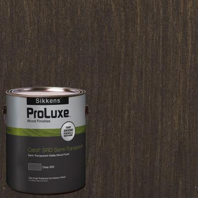 1-gal. #HDGSRD-ST-58 Oxford Brown Cetol SRD Semi-Transparent Exterior Wood Finish
