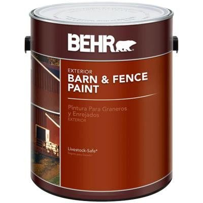 1-gal. Red Exterior Barn and Fence Paint