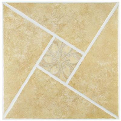 Castelo 17-3/4 in. x 17-3/4 in. Ceramic Wall and Floor Tile (21.85 sq. ft. / case)