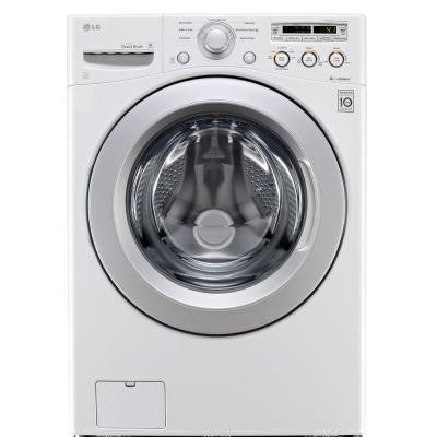 4.0 DOE cu. ft. High-Efficiency Front Load Washer in White, ENERGY STAR