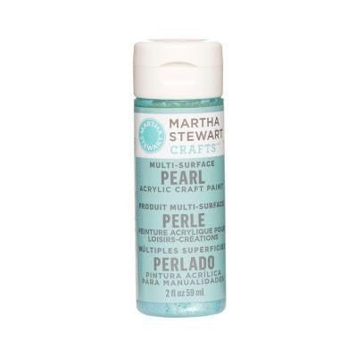 2-oz. Aquarium Multi-Surface Pearl Acrylic Craft Paint