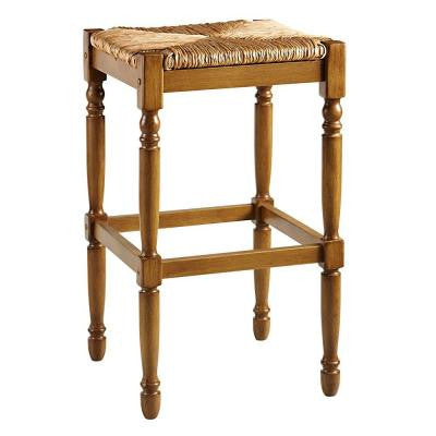 16.5 in. W Hamilton Barstool in Reclaimed Oak
