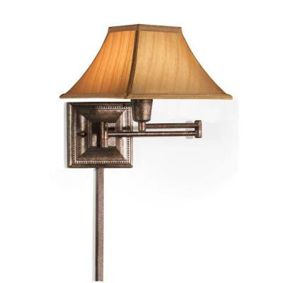 Gold Kingston Swing-Arm Pin-Up Lamp