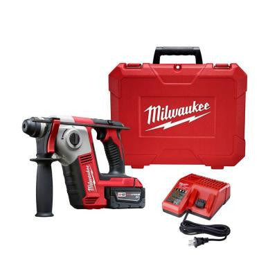 M18 18-Volt Lithium-Ion Cordless 5/8 in. SDS-Plus Rotary Hammer Kit 1-Battery