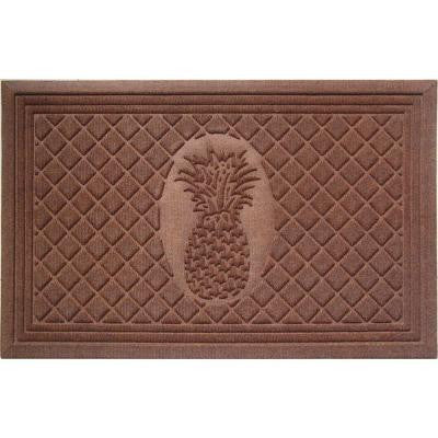 Pineapple 22 in. x 35 in. Weather Beater Door Mat
