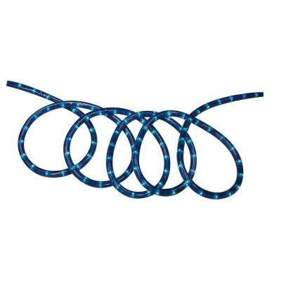 18 ft. Blue Incandescent Rope Light Kit
