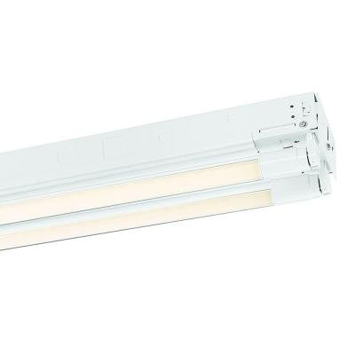 4 ft. 2-Light T8 Industrial LED Strip Light with 2000 Lumen LED Tubes (12-Pack)