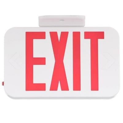 Thermoplastic LED Exit Sign with Red Letters