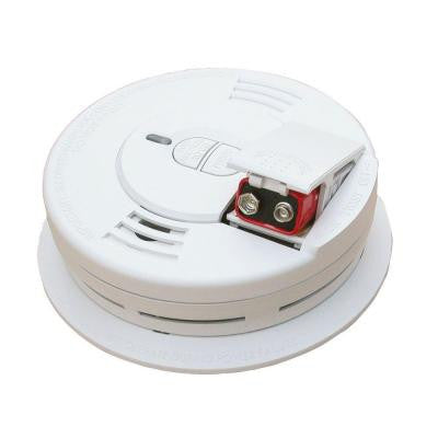 Battery Operated Smoke Alarm Front Load With Battery Backup