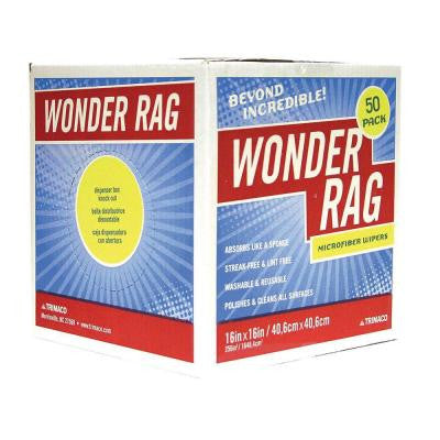 16 in. x 16 in. Wonder Rag Dispenser Box (50-Pack)