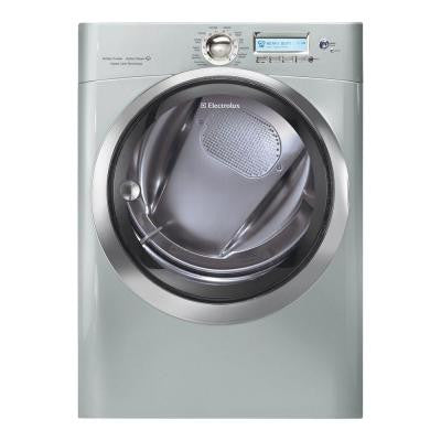 Wave-Touch 8.0 cu. ft. Gas Dryer with Steam in Silver Sands
