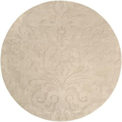 Candice Olson Ivory 8 ft. Round Area Rug