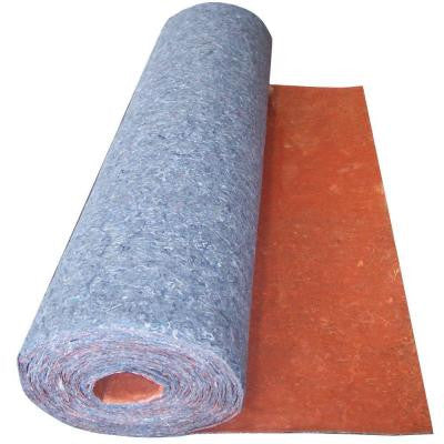 100 sq. ft. 3 ft. x 33.34 ft. x 1/8 in. Underlayment with Attached Vapor Barrier