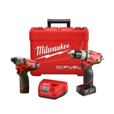 M12 FUEL 12-Volt Lithium-Ion 1/2 in. Drill/Driver and Impact Combo Kit