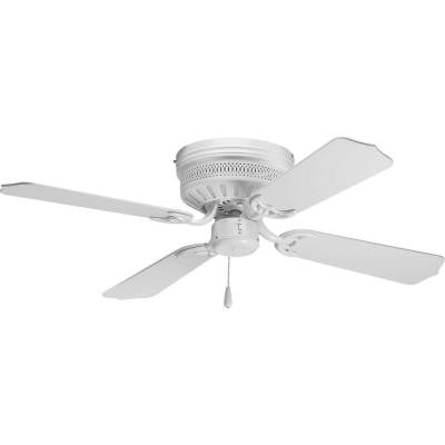AirPro Hugger 42 in. White Ceiling Fan