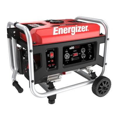 3,500-Watt Gasoline Portable Power Generator