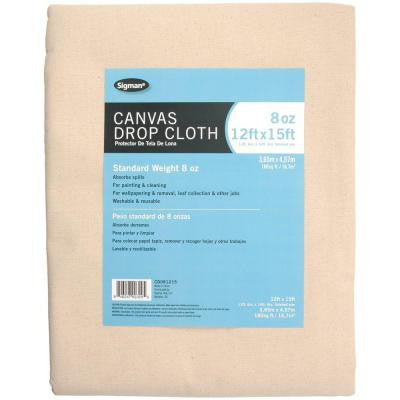 11 ft. 6 in. x 14 ft. 6 in., 8 oz. Canvas Drop Cloth