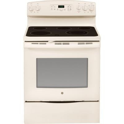 5.3 cu. ft. Electric Range with Self-Cleaning Oven in Bisque
