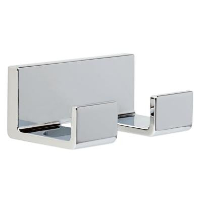 Vero Double Robe Hook in Chrome