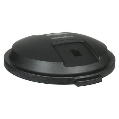Roughneck 32 Gal. Black Trash Can Lid