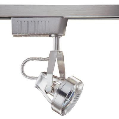 6601 Series Low Voltage MR16 Satin Nickel Track Lighting Fixture