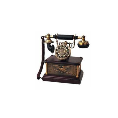 Corded 1911 American Eagle Reproduction Telephone with Faux Rotary Dial