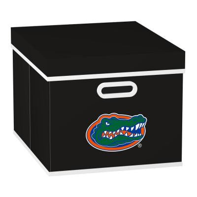 College STACKITS University of Florida 12 in. x 10 in. x 15 in. Stackable Black Fabric Storage Cube