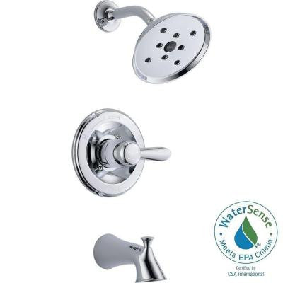 Lahara 1-Handle H2Okinetic Tub and Shower Faucet in Chrome