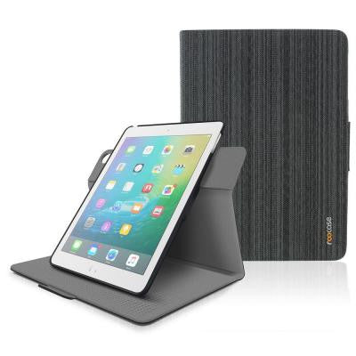 Orb 360 Folio System Case Cover for Apple iPad Air 2 (2014) - Canvas Black