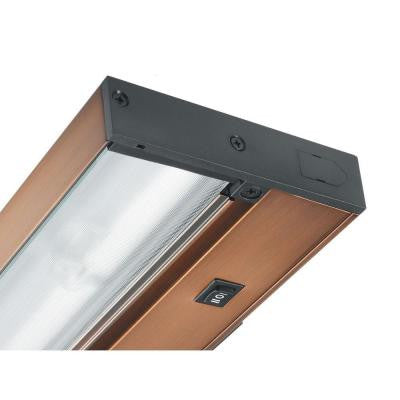 Pro-Series 30 in. Brushed Bronze Halogen Under Cabinet Light