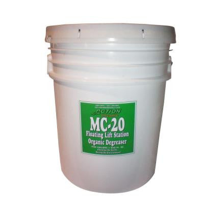 MC-20-7 2-55 Gal. Drums Organic Septic Tank and Lift Station Degreaser (at 50% Concentrate)