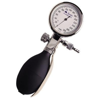 Chrome Signature Palm Aneroid Manometer